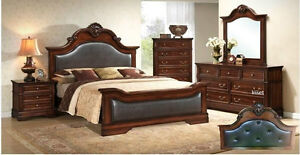 Store Wide Super SALE! IS ON  @ REAL BUY FURNITURE  Brand New 8 Pcs Q-Bed Room set $1999