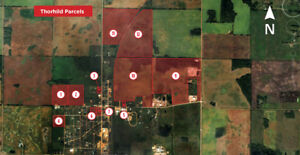Industrial/Commercial Land For Sale in Thorhild County