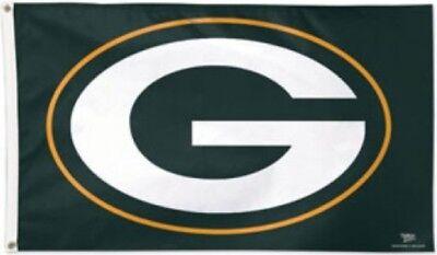 Flagge Hissflagge NFL Green Bay Packers Logo 90 x 150 cm Fahne