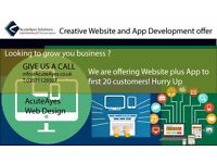 Creative website and App development for your business with 6 months support free