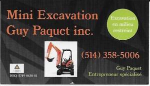 Mini Excavation Guy Paquet inc.