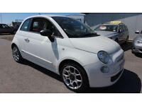 FIAT 500 1.2 POP 3d 69 BHP - Quality & Best Value Assured (white) 2011