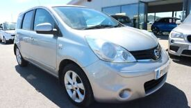 NISSAN NOTE 1.6 N-TEC 5d 110 BHP *QUALITY & BEST VALUE ASSURED* (silver) 2010