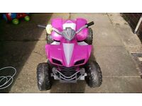 Electric quad for girls