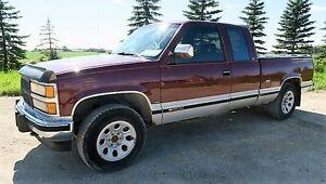 1993 Chevrolet K/V 10 / 1500 4+CAB Ext Cab 8 Cyl, Diesel Truck
