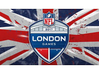 6 tickets for NFL International Series 2017 - Arizona Cardinals V Los Angeles Rams in Wembley London