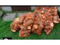 Seasoned logs 30kg approx bagged £8@ bag