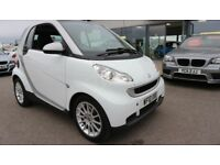 SMART FORTWO 1.0 PASSION MHD 2d AUTO 71 BHP - QUALITY & BEST VALUE ASSURED (white) 2010