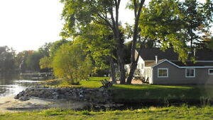 6 cottages rented long term 105' on Lake Nipissing in North Bay