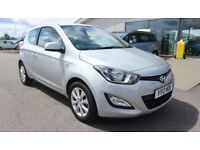 HYUNDAI I20 1.2 ACTIVE 3d 84 BHP - QUALITY & BEST VALUE ASSURED (silver) 2013