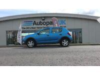 DACIA SANDERO 0.9 STEPWAY AMBIANCE TCE 5d 90 BHP - Quality & Best Value Assured (blue) 2013