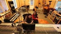 Vidéo-démo en studio à l'Oreille Gauche