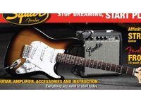 Electric Guitar Fender squire Strat