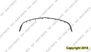 Bumper Spoiler Front Base Model Matt-Black Acura RSX 2002-2004
