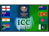 INDIA vs SRI LANKA - ICC Champions Trophy - 2 Silver tickets