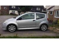 citroen c2 1124cc silver 53 plate 395 no offers swap for 7 seater