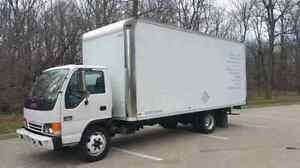 2003 GMC W3500 18' Van Body (16-282)