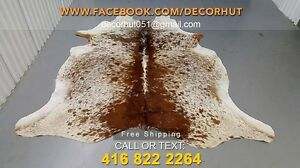 Brazilian Cowhide Rug Pure Leather Hair on Hide