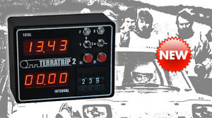Terratrip 2 Classic / Retro Rallyecomputer Wegstreckenzähler - Historic
