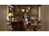 Waiter or Waitress required Monday to Friday, EC4