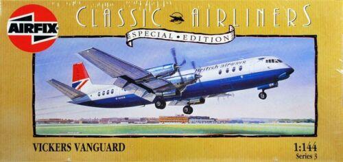 AIRFIX Classic Airliners Special Edit Version British Airways Vickers Vanguard