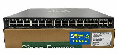 Cisco SG300-52P 52-Port GigE PoE+ Managed Switch (SG300-52P-K9) CISCO EXCESS