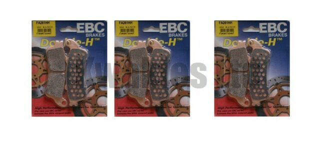 Honda VFR800 ABS 2002-2005 Set of EBC Sintered HH Front & Rear Brake Pads