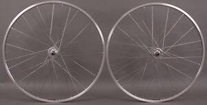 New-Sun-CR18-27-Silver-Road-Bike-Wheelset-Freewheel-126mm-5-6-7-Speed-Freewheel