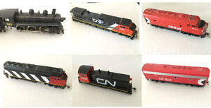 Large HO Train Set in Good Condition.