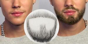 Real Human Hair Man Fake Beard Simulation Mustache Performance Makeup Drama tool