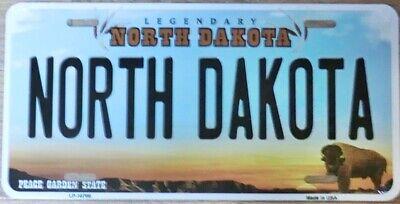 Nummernschild NORTH DAKOTA 30x15cm USA License Plate Blechschild