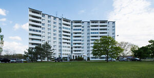 Clean and Bright 2 Bedroom Condo with Ensuite