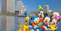 NB March Break in Florida.  Cheapest tour around