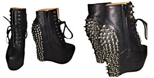 Jeffrey Campbell wedge/boutique Izra ( friperie virtuelle )