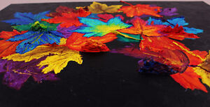 """Autumn's Cloak"" - New Original 3D Painting Stratford Kitchener Area image 3"