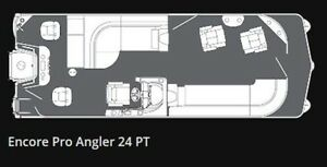 2017 Manitou 24 VP Encore Pro Angler PT