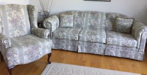 Couch - Love Seat - Wing Chair
