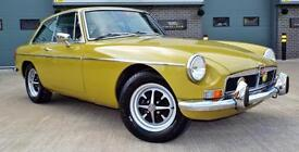 1973 MGB GT 1.8 Lime Flower Green Fully Restored Rare Example!