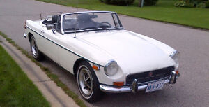 '72 MGB with O/D