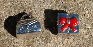 2 Sterling Silver Beads - Each $10