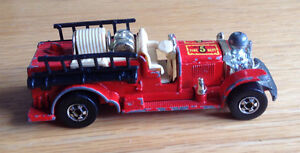 1980 Vintage Hot Wheels 'Old Number 5' fire truck