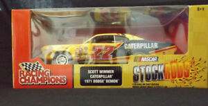 1971 Dodge Demon 1:18-Scott Wimmer Caterpillar NASCAR Sealed
