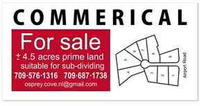 Prime Commercial Land for Sale - Airport Road