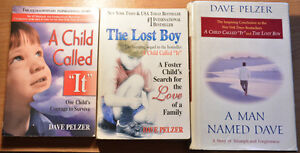 """All 3 """"A Child called It"""" books, Dave Pelzer"""