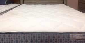 Brand new pocket coil mattress & box $398 + FREE FRAME+ DELIVERY