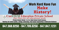 Private Day School, Night school, Credit courses, Summer credits