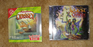Children's CDs (Adventures in Odyssey, Quest for Camelot))