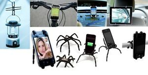 NEW: Spiderpodium(Easily mount your phone on any bike)
