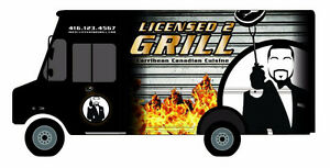 FOOD TRUCK AND BIG SMOKER FOR SALE