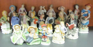 Selection of Bisque Figurines